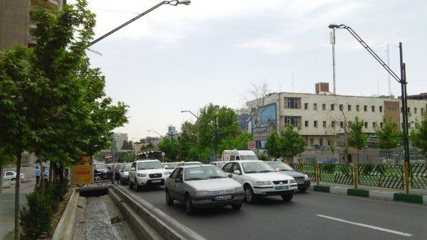 イランの町中