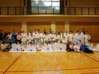 国立信州高遠少年自然の家に禅道会ロシア選手団が約70名宿泊