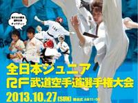 2013 全日本ジュニアRF武道空手道選手権大会