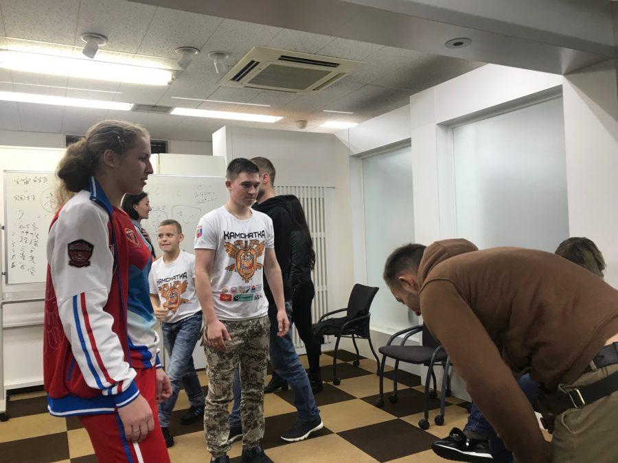 禅道会ロシア選手団