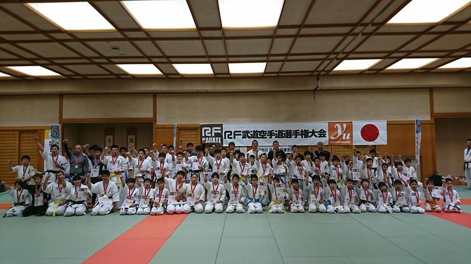 3/25(日) RF武道柔術中国地区大会が開催されました!!