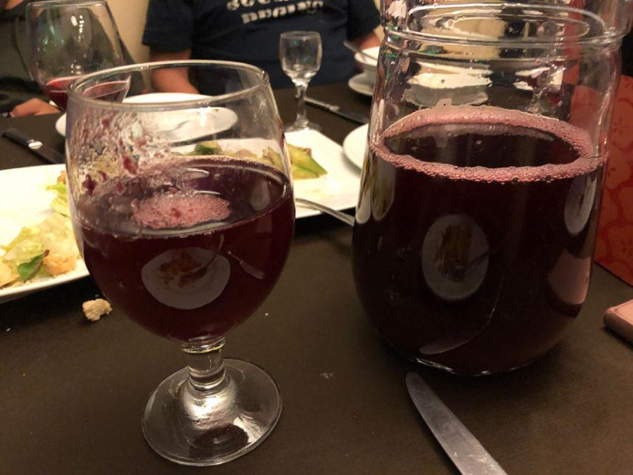 リンゴベリーのジュース