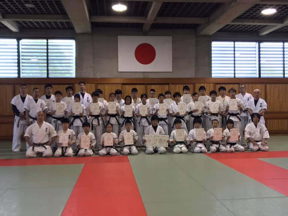 2019禅道会全日本強化選手の認定式&合同練習会