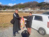 全国から鶴を送って頂きました。禅道会生の皆様ありがとうございました!